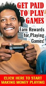 Get Paid to Play Games banner160x300