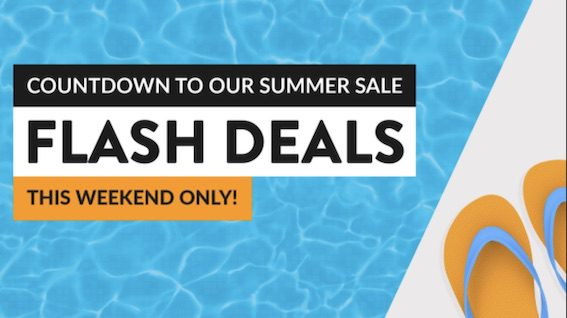 Countdown to Summer Sales