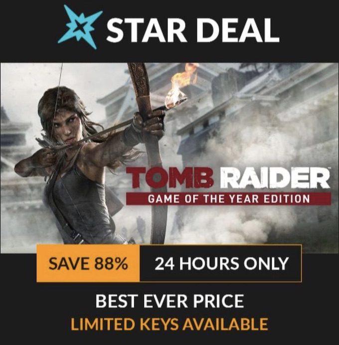 Star Deal Tomb Raider