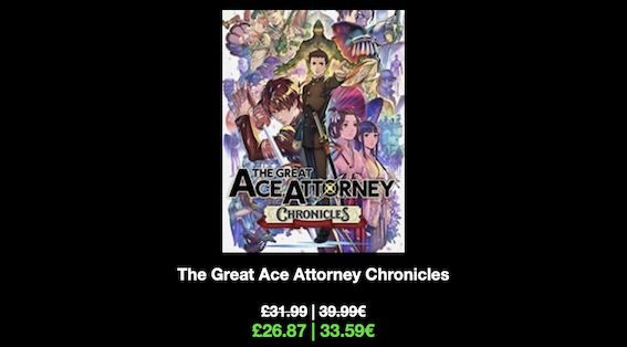 The Great Ace Attorney Chronicles 2