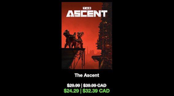 The Ascent thumbnail