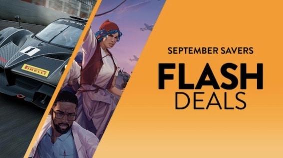 Sep Savers Flash Deals